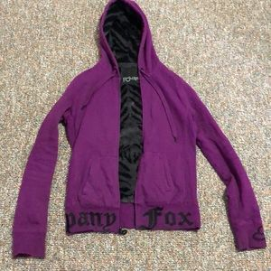 Fox riders co fur lined jacket